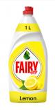 Fairy Lemon Hand Dishwashing Liquid 1Ltr