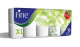 Fine Extra Long Toilet Roll 2 Ply 400 Sheets 10 Rolls